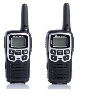 Pack DUO walkie talkie Midland XT50